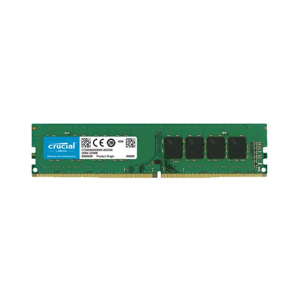 Buy Memory Desk Crucial 8GB DDR4 2666 at best prices in Dubai